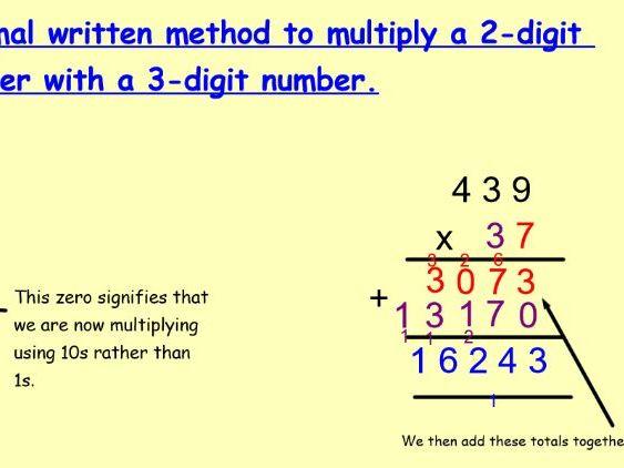 Year 5 Multiplication