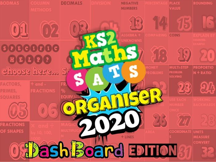 2020 School License KS2 Ultimate Maths Organiser