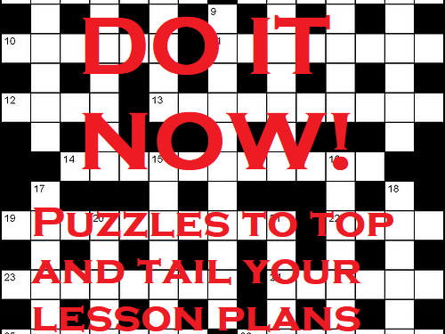 Rivers: A Crossword Puzzle