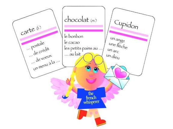 French vocabulary:  La St-Valentin