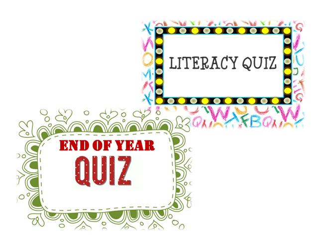End of Term: Quiz Bundle