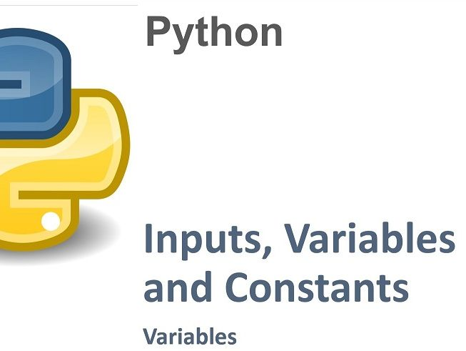 Python Basics II - (2 X full lessons) GCSE - Variables / Inputs / Operator Precedence
