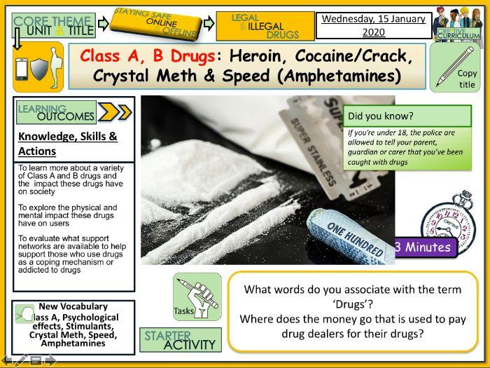 Illegal Drugs - PSHE