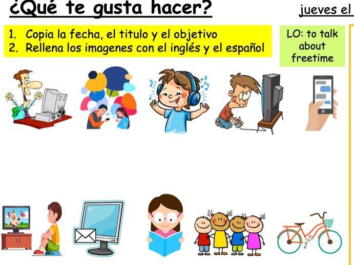 Year 7 Spanish - Viva 1 - Module 2 Mi Tiempo Libre