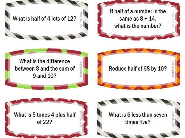 100 Multi-step Problems for Y2/Y3