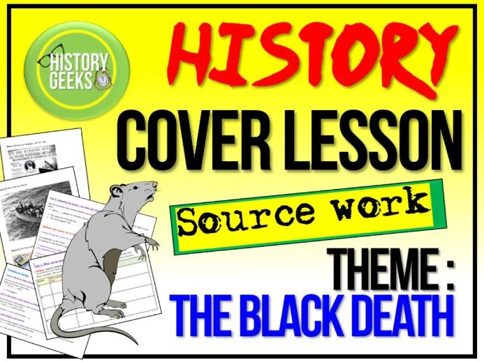 History Cover Lesson - The Black Death