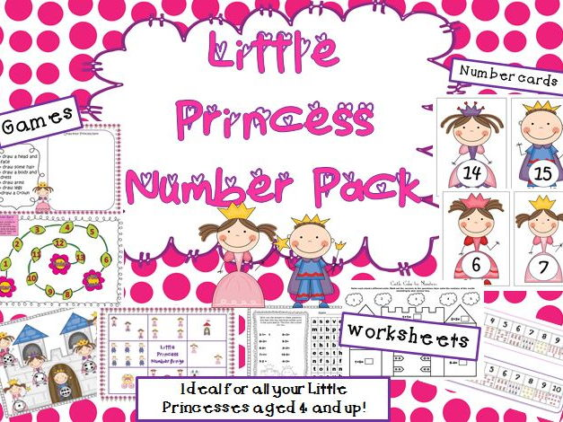 Little Princess Number Games