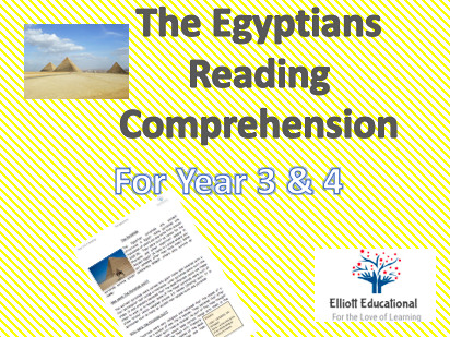 Egyptians Reading Comprehensions
