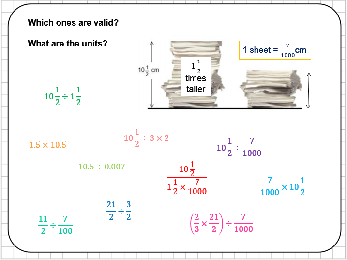 Fraction Division Reasoning Tasks
