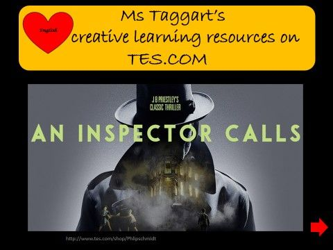 HOME LEARNING**AN INSPECTOR CALLS ** PLAYLIST**/ EDUQAS/AQA/EDEXCEL/OCR GCSE 9-1  UPDATED MAR 2020