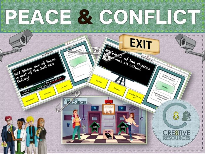 Peace + Conflict - GCSE RE