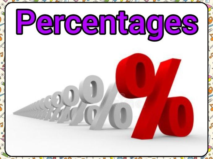Percentages of Amounts & Increase PowerPoint