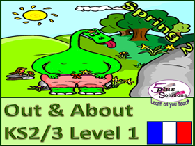 SIX LESSON PRIMARY KS2/3 FRENCH UNIT: Weather, seasons, clothes, colours, sentence building…