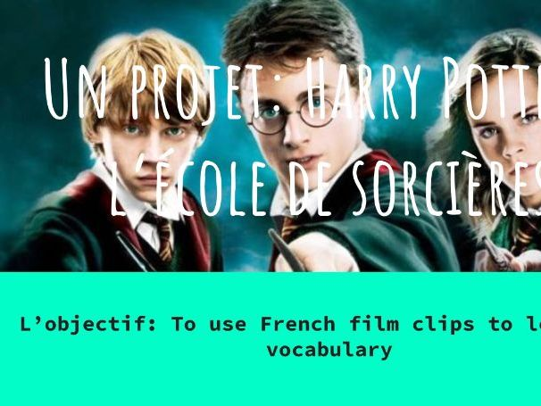 French Harry Potter Project