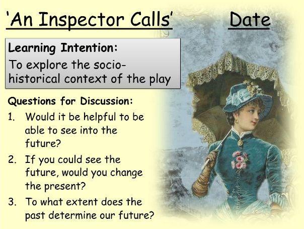 'An Inspector Calls': Guide to Context
