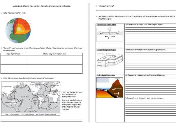 The Challenge of Natural Hazards home learning booklets
