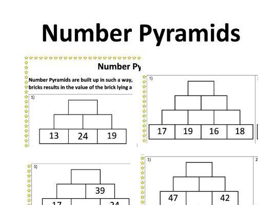 Number Pyramids