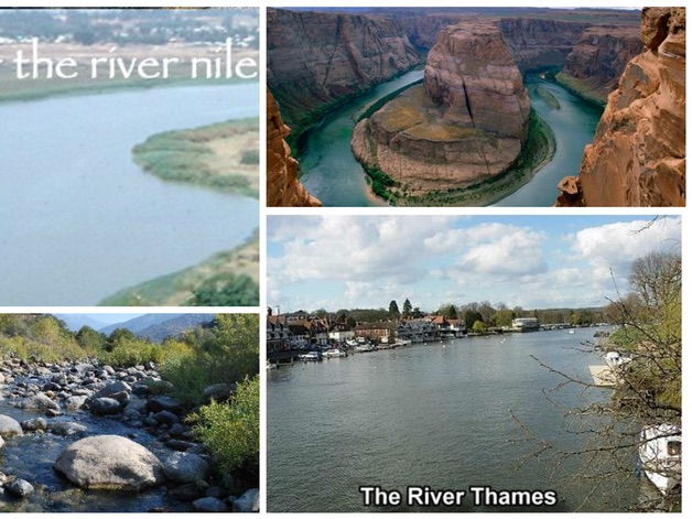 Geography / Ancient Egypt Topic - Comparing the River Nile and River Thames