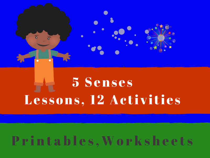5 SENSES: Lesson Guides, 12 Activities and Resources