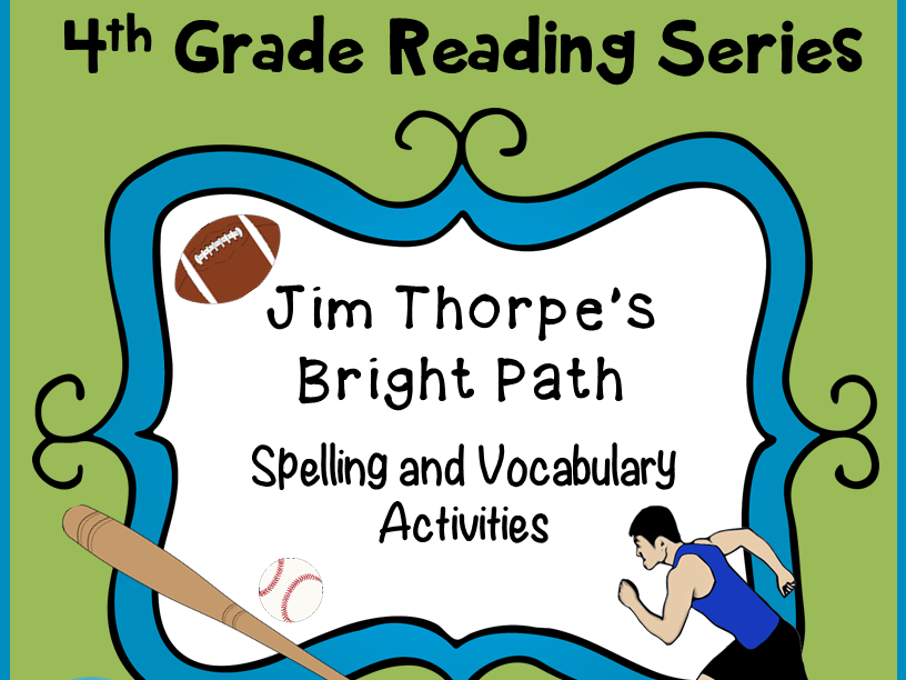 Spelling and Vocabulary Activities: Jim Thorpe's Bright Path