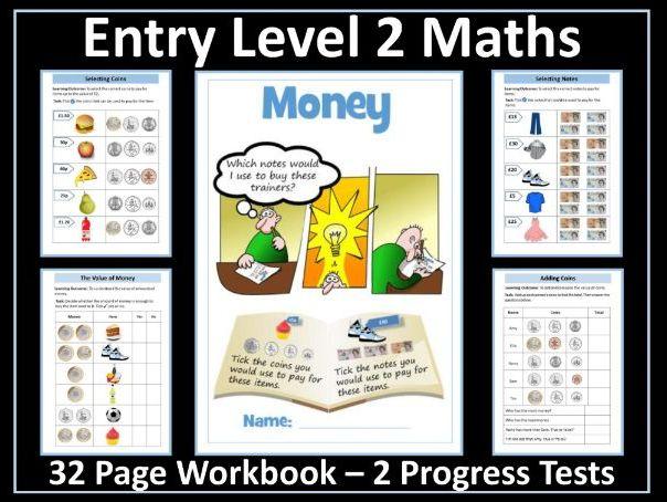 Money AQA Entry Level 2 Maths