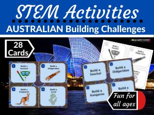 STEM Activities: Australian Building Challenges