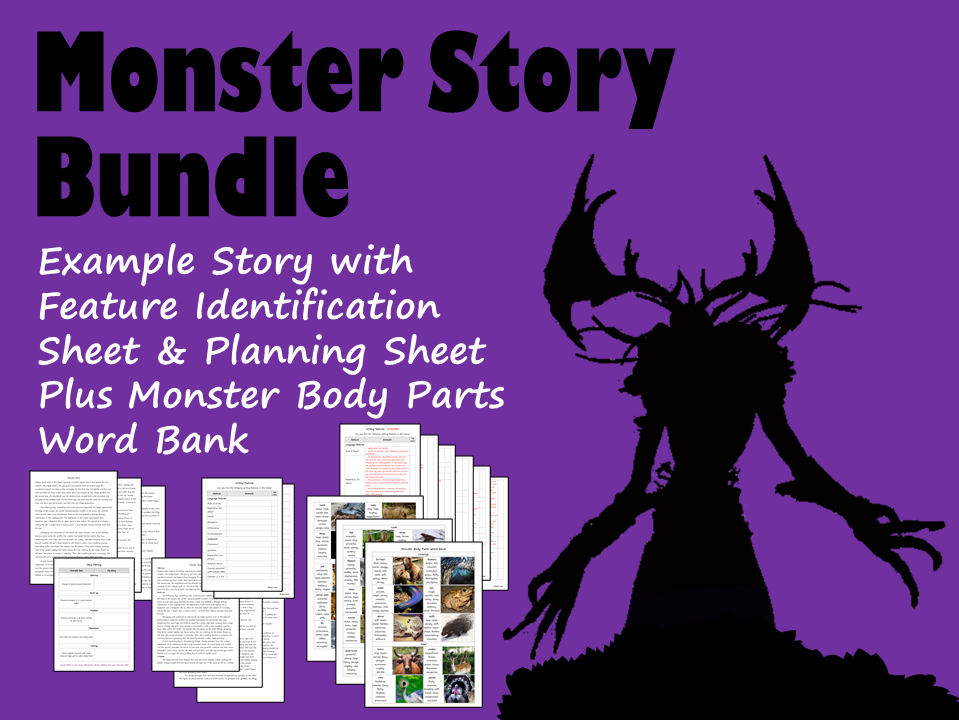 Monster Story Writing BUNDLE
