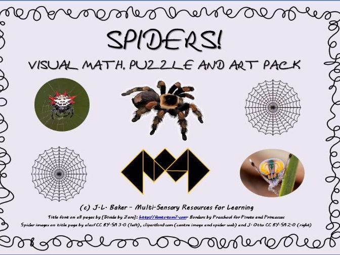 Spider Pack - Math, Puzzles & Amazing Geometric Art