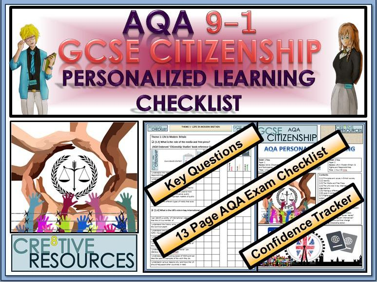 AQA GCSE CITIZENSHIP (9-1) REVISION PLC