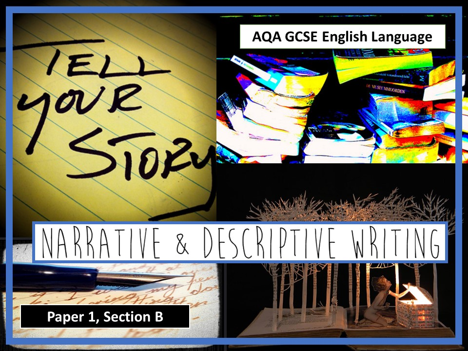 New AQA GCSE English Language Paper 1, Section B Resources