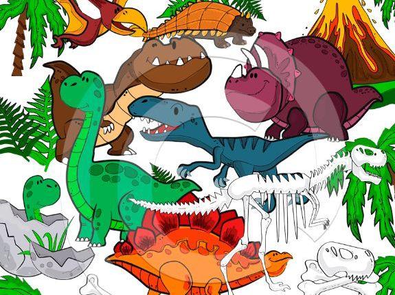 Dinosaur clip art-Dinosaurs clipart-Dino clip art