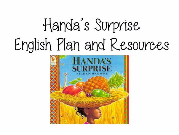 Handa's Surprise English Plan and Resources