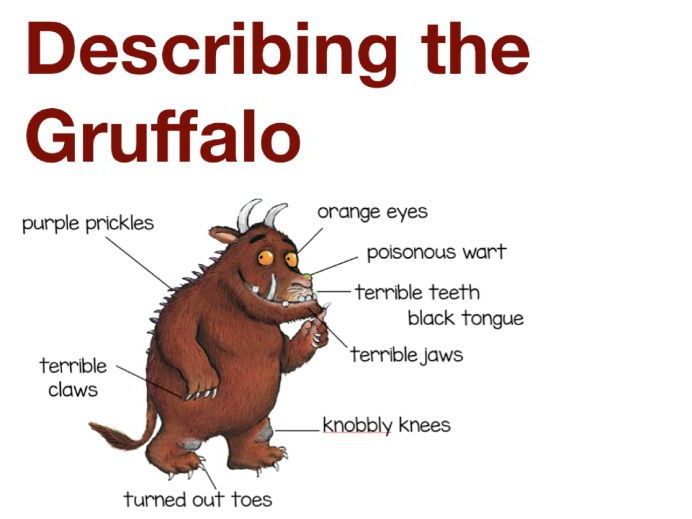 The Gruffalo Rhyming Words Game By Creativelements Teaching