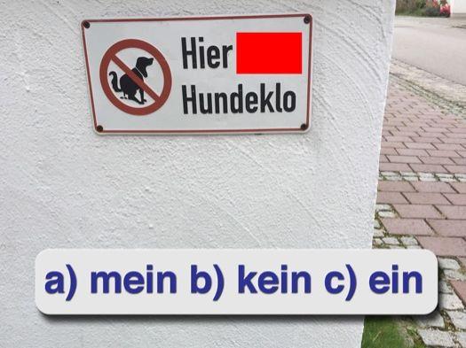 WWF – Welches Wort Fehlt? Fun low level German activity