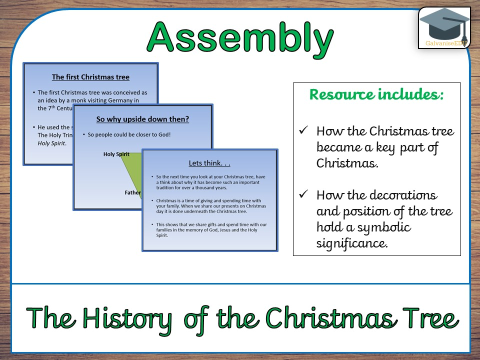 History of the Christmas Tree Assembly