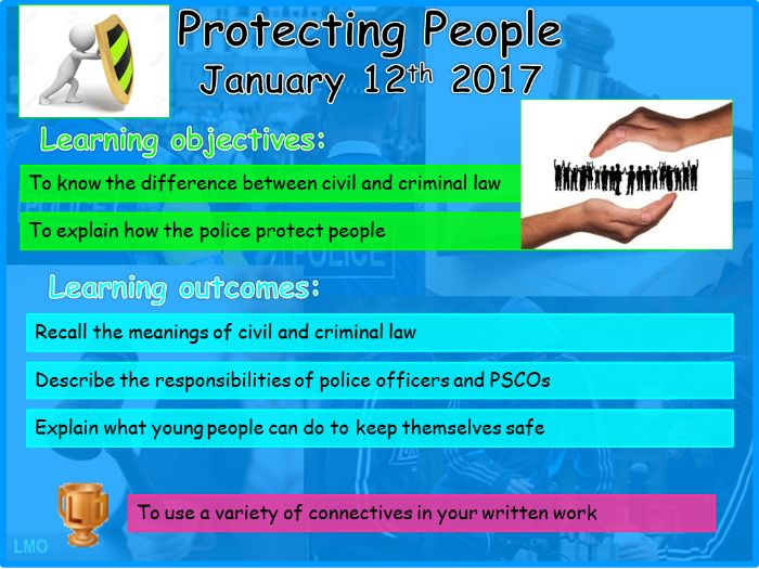 Young People and the Law: Protecting People