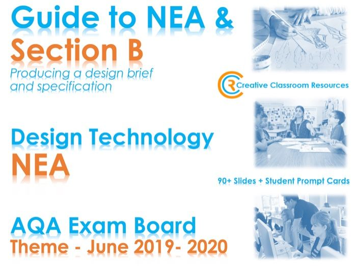 GCSE DT NEA AQA Guide to Section B – Design Brief/Client Needs/Specification - NEW & IMPROVED!