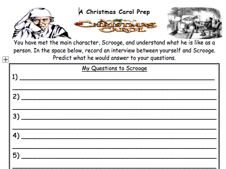 A Christmas Carol (Real Reads) Guided Reading Activities