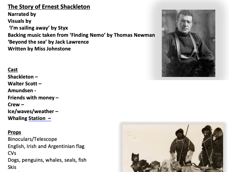 Shackleton's Adventure