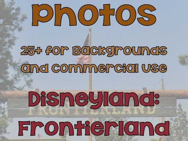Photographs Around Disneyland: Adventureland
