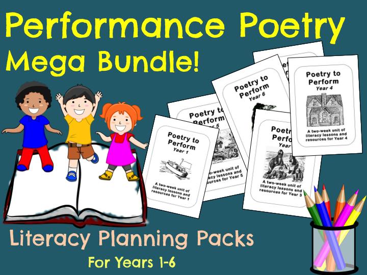 Whole School Performance Poetry Bundle