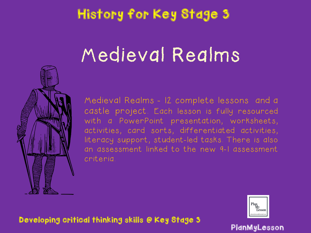 Medieval Realms-  Unit of Work