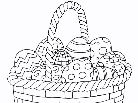 Easter - Colouring Page