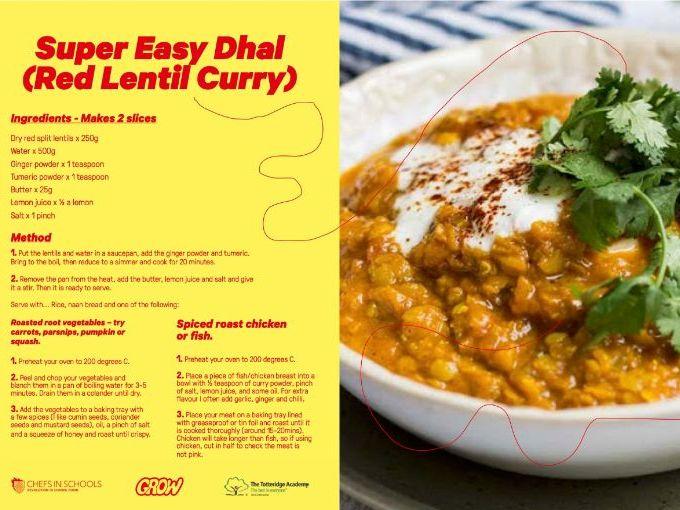 RECIPE - SUPER EASY DAHL - FOOD EDUCATION