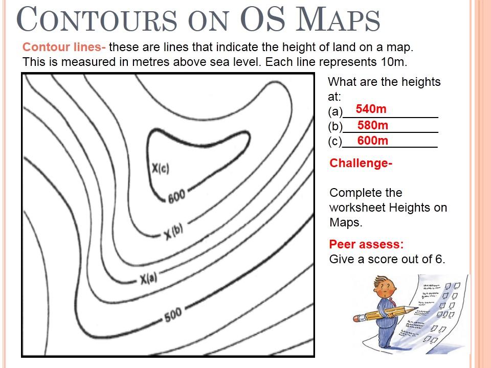 Lab--Topographic Maps