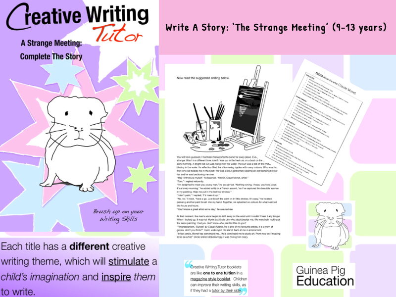 A Strange Meeting: Complete The Story (SATS And 11+ Essential Writing Practice) (9-13 years)