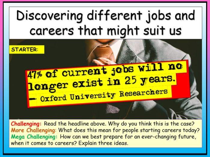 Careers - Researching Jobs
