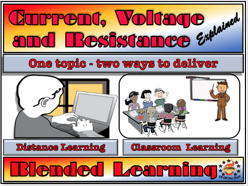 Electricity - Current, Voltage and Resistance Explained - Classroom, Distance and Blended Learning KS3