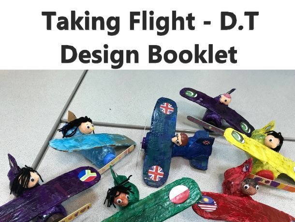 Primary D.T Booklet - Plane Design