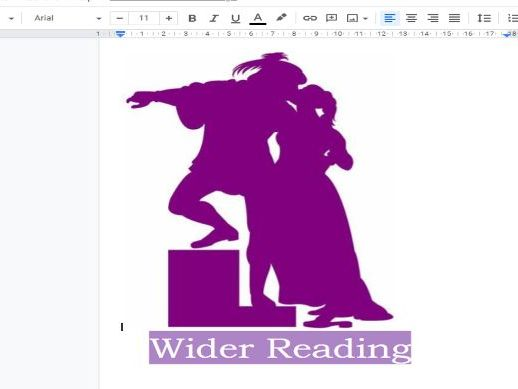 Wider reading 'Romeo and Juliet'